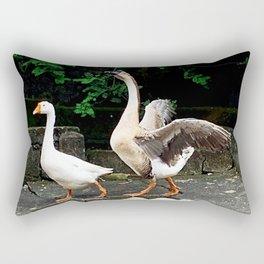 Cute Geese Rectangular Pillow