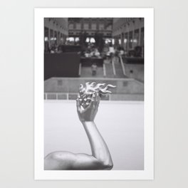 Prometheus / Rockefeller Center Art Print