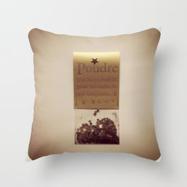 Collection de petits bonheurs Throw Pillow