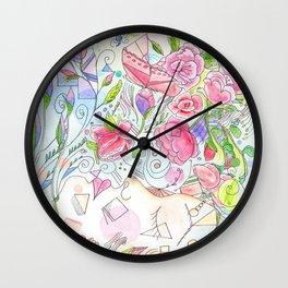 Her Beauty Regime Wall Clock