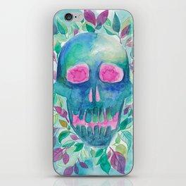 Garden Skull iPhone Skin