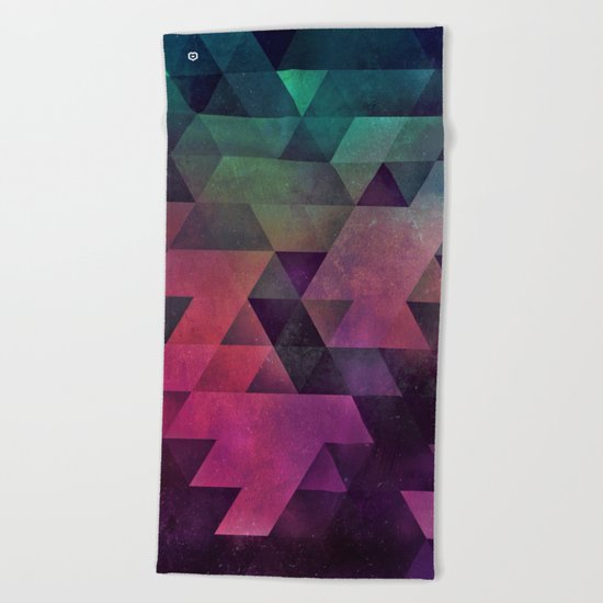 dryy xpyll Beach Towel