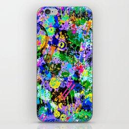 Graffiti Carnival iPhone Skin