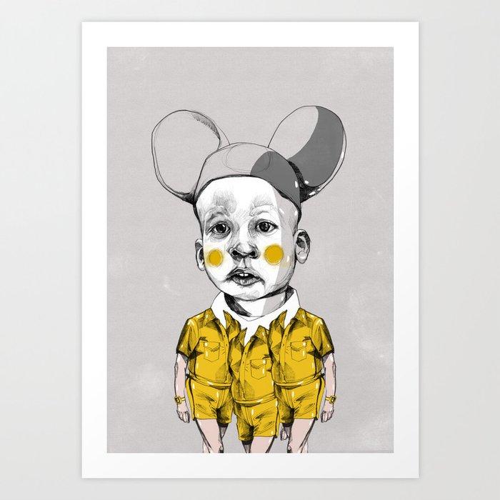 mice and men Art Print