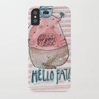 fat iPhone & iPod Cases featuring FAT by PranitaKocharekar