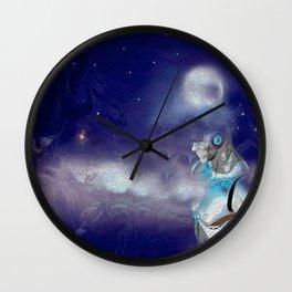 Man Cyborg Machine Wall Clock