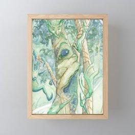 The Bumi Tree Sprites Framed Mini Art Print