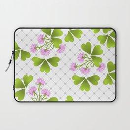Field clover Laptop Sleeve