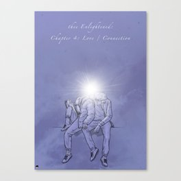 thee Enlightened: Chapter 4 - Love / Connection Canvas Print