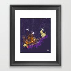 Trumpet Man Framed Art Print