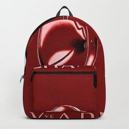 Vintage Champagne Red Veuve A. Devaux, Paris, France Jazz Age Roaring Twenties Advertisement Poster Backpack