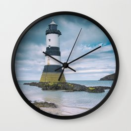 The Old Lighthouse III Wall Clock