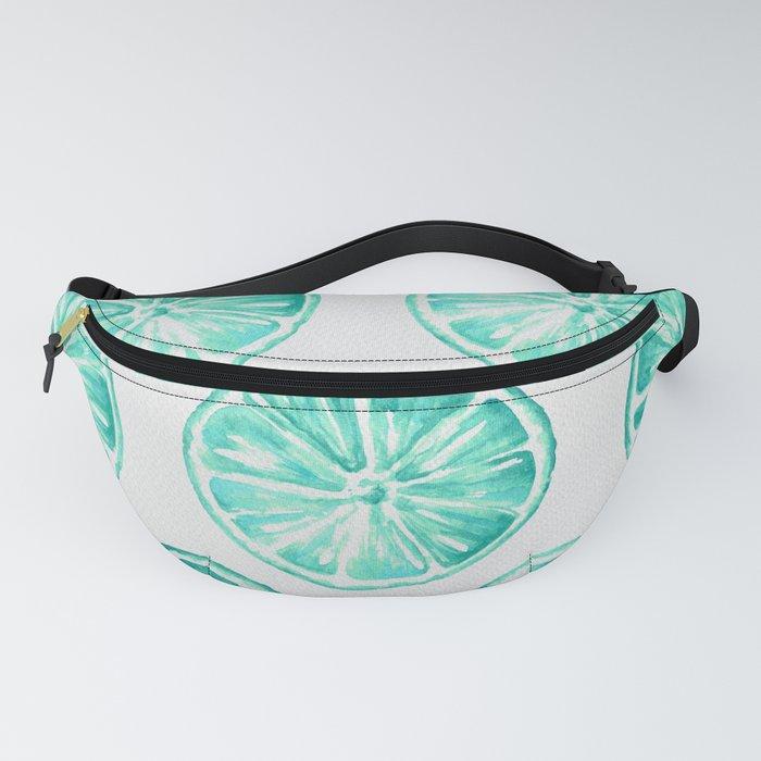 Turquoise Citrus Fanny Pack
