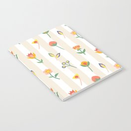 Paper Cut Flowers Notebook