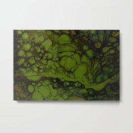 In green pace Metal Print