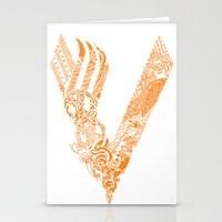 vikings Stationery Cards featuring Vikings by Fiorella Modolo