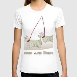 Westies are Besties 2 T-shirt
