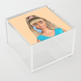 Quarantine Doll Acrylic Box