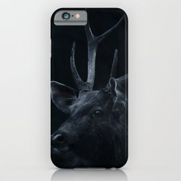 A deer in the darkness iPhone Case