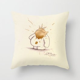 #coffeemonsters 468 Throw Pillow