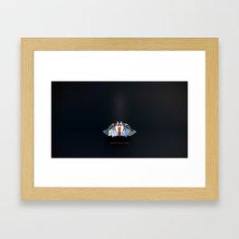 Snow Speeder Framed Art Print