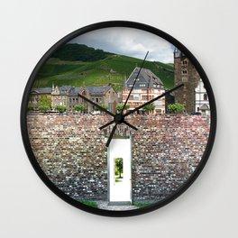 The Secret Door 01 Wall Clock