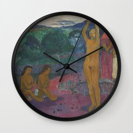 Paul Gauguin - The Invocation Wall Clock