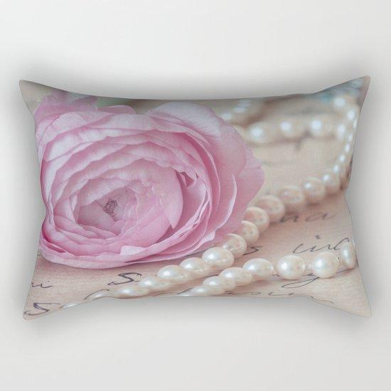Pink Luxury Rectangular Pillow