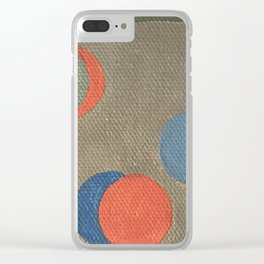 hesitate Clear iPhone Case