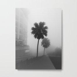 Whispering Fog Metal Print