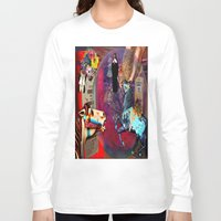 pocket fuel Long Sleeve T-shirts featuring Fossil Fuel Cemetery by Joseph Mosley