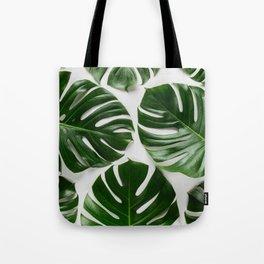 Eco Tropical Monstera Tote Bag