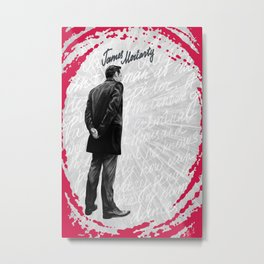 James Moriarty Metal Print