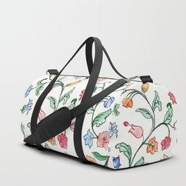 Tiny Floral Twines Duffle Bag