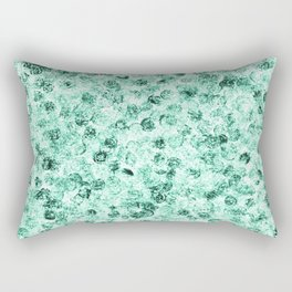 sakura pen stamp green Rectangular Pillow