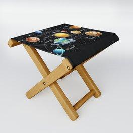 Solar System Folding Stool