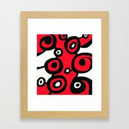 Circ Abstract Framed Art Print