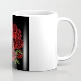 Skull roses Coffee Mug