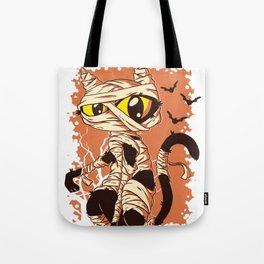 Cat Mummy Tote Bag