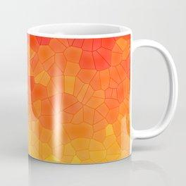 Mosaic Lake of Fire Coffee Mug