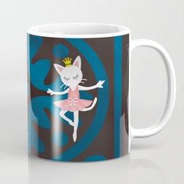 Ballet Cat Coffee Mug