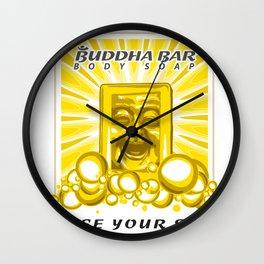 Buddha Bar: Cleanse Your Spirit! Wall Clock