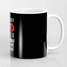 Gamer Not Lazy Energy Saving Mode Gaming Coffee Mug