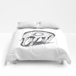 Small Scribble Elephant Comforters