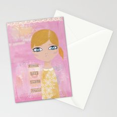 Every girl needs magic Stationery Cards