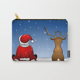 waiting for christmas Carry-All Pouch