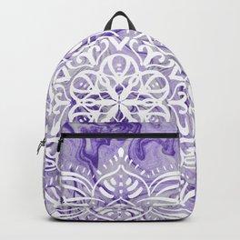 Marble Mandala Twist XI Backpack