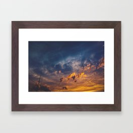 On Your Way Framed Art Print