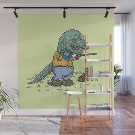 Geriatricasaur Wall Mural