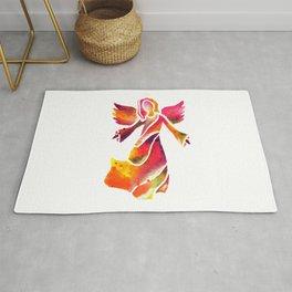 Colorful Angel Rug